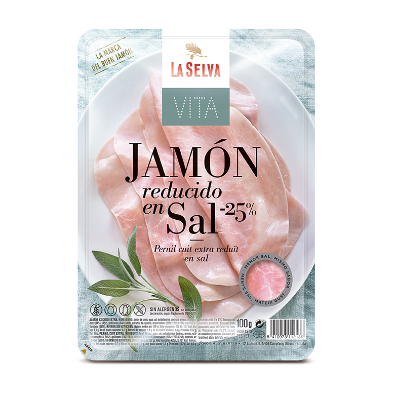 Premium Cooked Ham Reduced in salt
